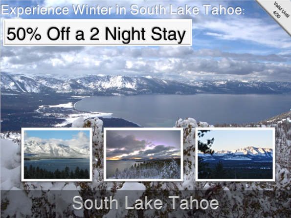 50% Off South Lake Tahoe Vacation Rentals