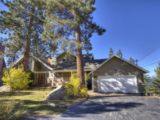 Enjoy Spectacular Views of Lake Tahoe from Large Home